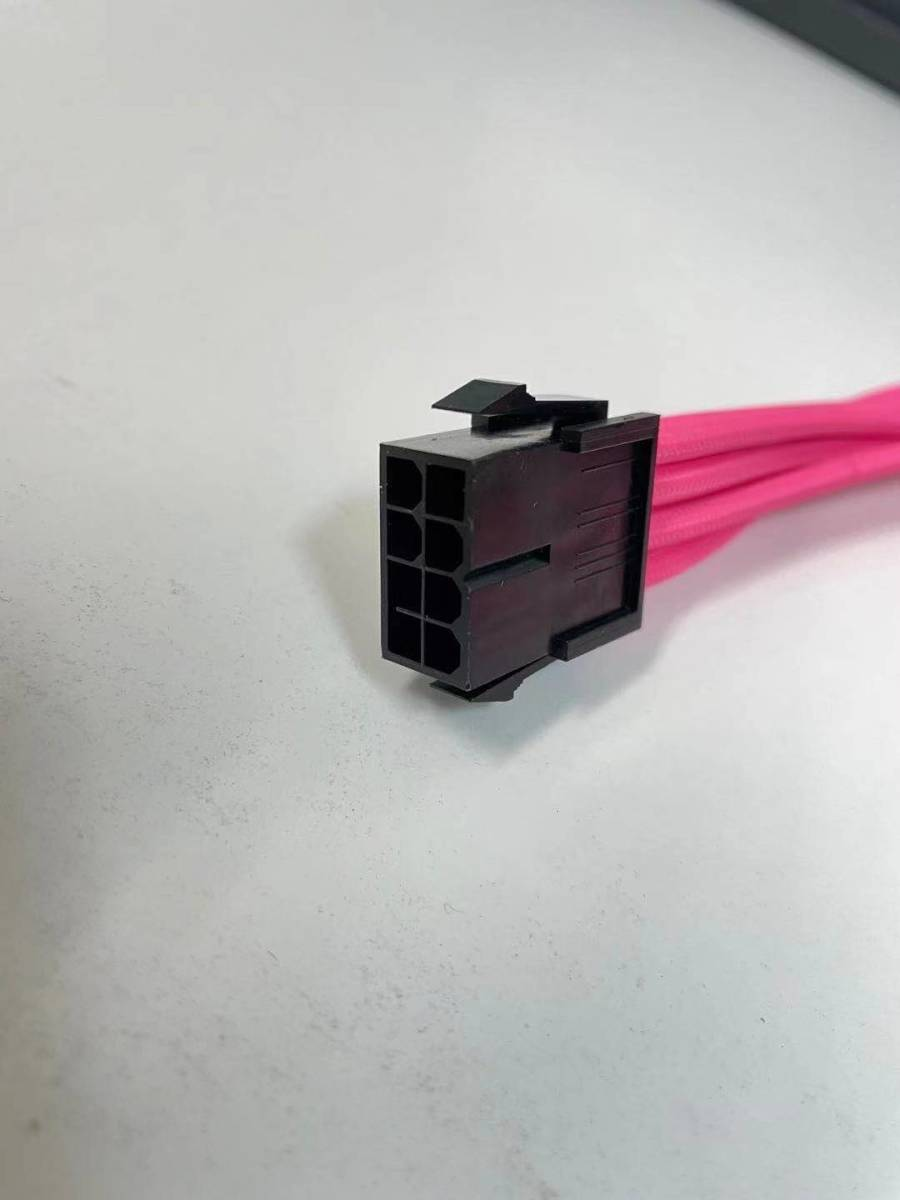 Z-113 PCI-Eケーブル PCI-E 8PIN to 8PIN(6+2)電源延長ケーブル 分岐 変更  パソコン部品 電源ケーブル