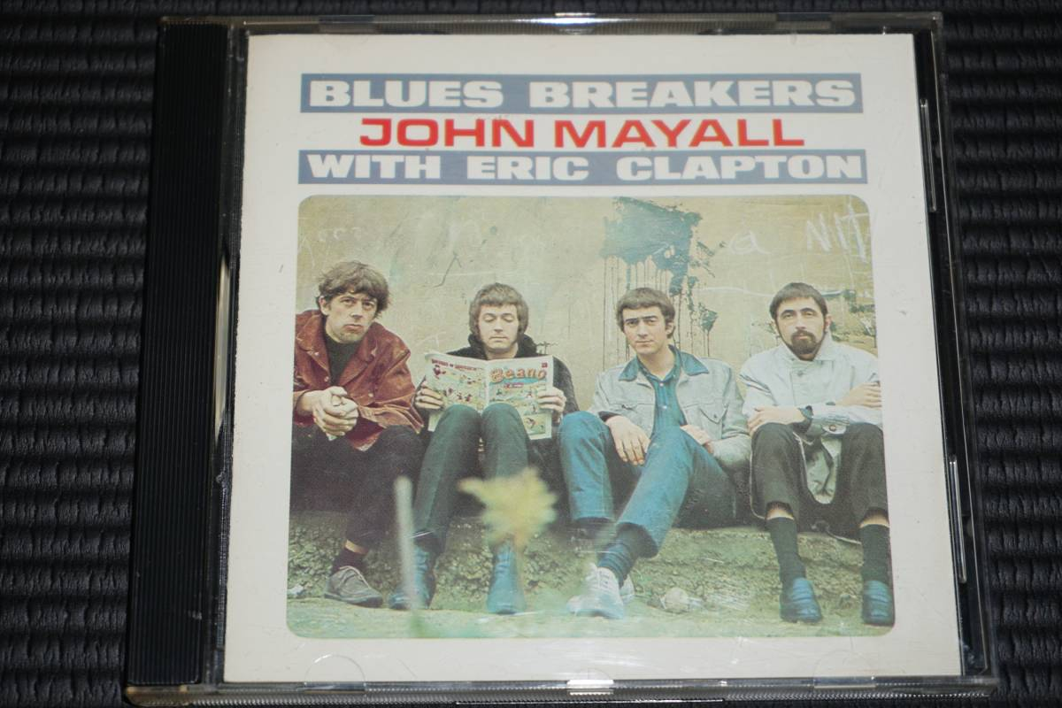 ◆John Mayall & The Bluesbreakers With Eric Clapton◆ジョン・メイオール エリック・クラプトン CD 輸入盤