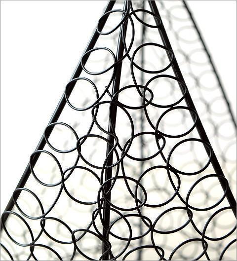 かご カゴ バスケット 収納 アイアン 小物入れ 花鉢 ガーデニング アイアンバスケット 2サイズセット 送料無料(一部地域除く) ebn2415_画像3