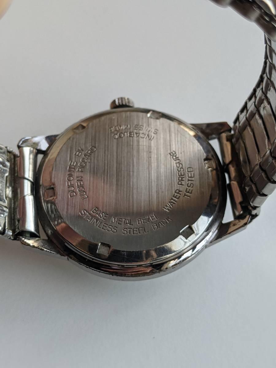 DUFONTE ヴィンテージウォッチ メンズ 男性 古着 レトロ ファッション 小物 腕時計 アクセサリー_画像2