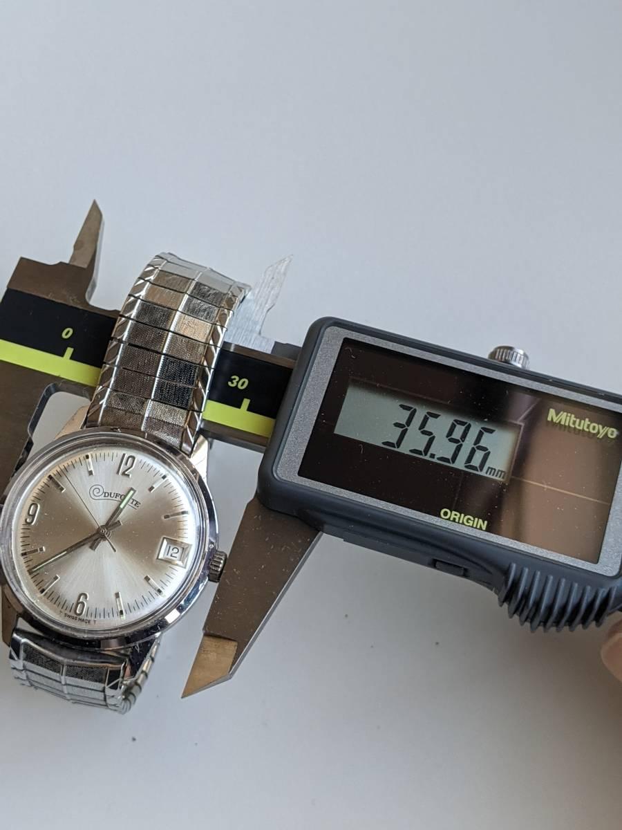 DUFONTE ヴィンテージウォッチ メンズ 男性 古着 レトロ ファッション 小物 腕時計 アクセサリー_画像7