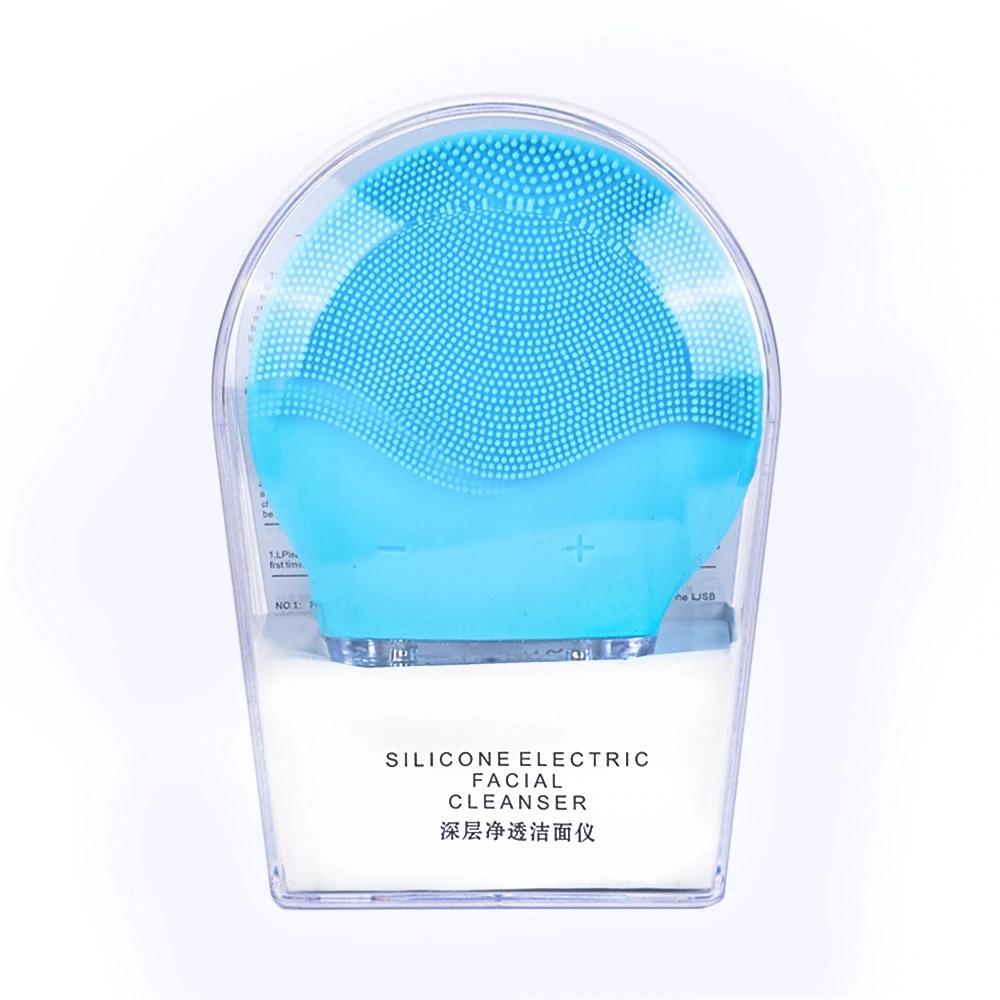 超音波 毛穴 美顔器 ピーリング 強力振動電気洗顔ブラシシリコーン sonic 洗顔ブラシきび除去クリーナー充電式_画像10