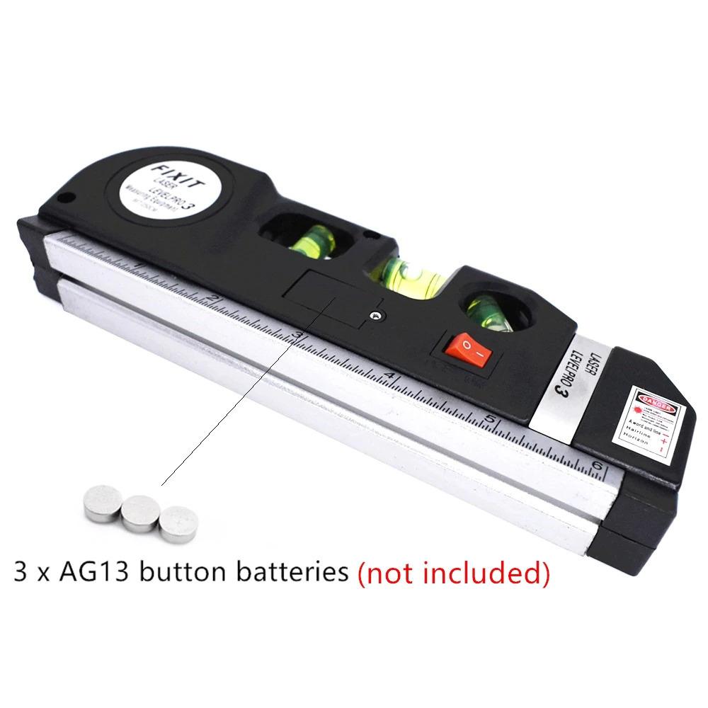 レーザー 光学測定器 墨出し器 高精度 レーザー墨出し器メジャーテープ調整多機能標準定規水平クロスライン三脚_画像4