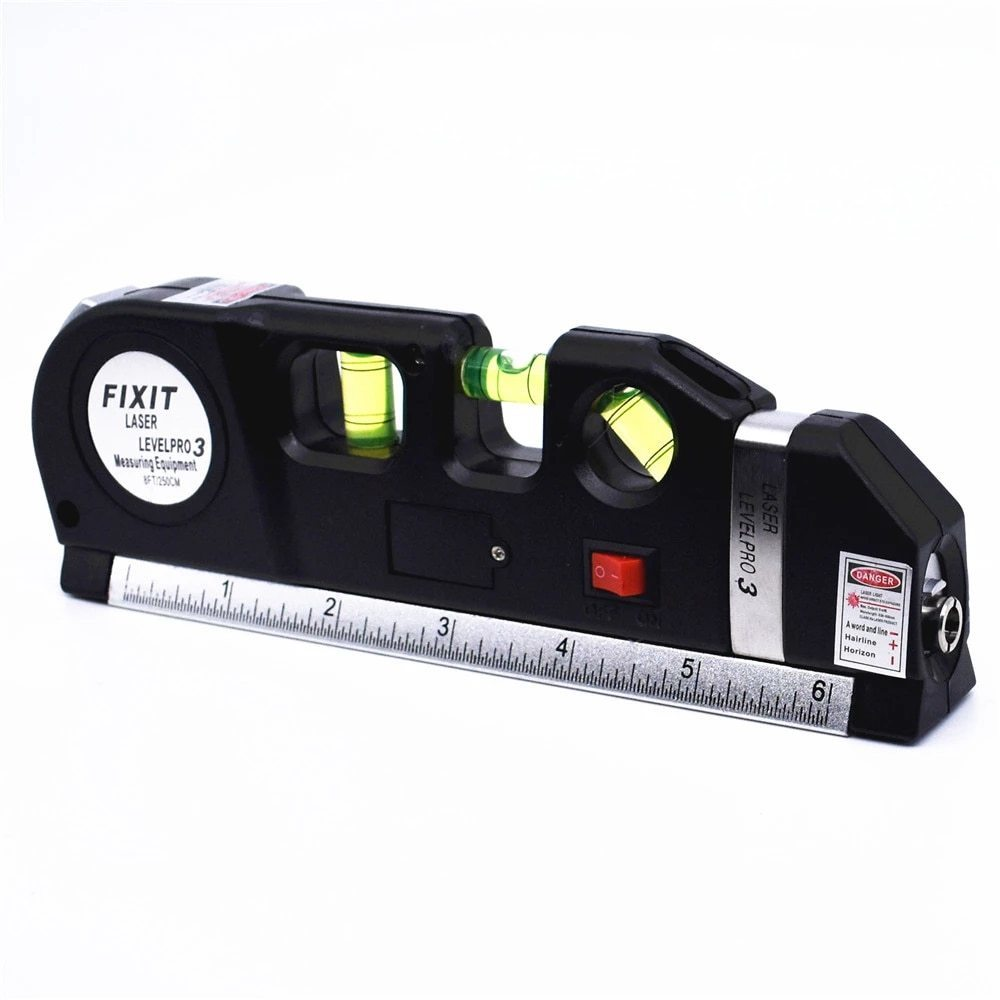 レーザー 光学測定器 墨出し器 高精度 レーザー墨出し器メジャーテープ調整多機能標準定規水平クロスライン三脚_画像8