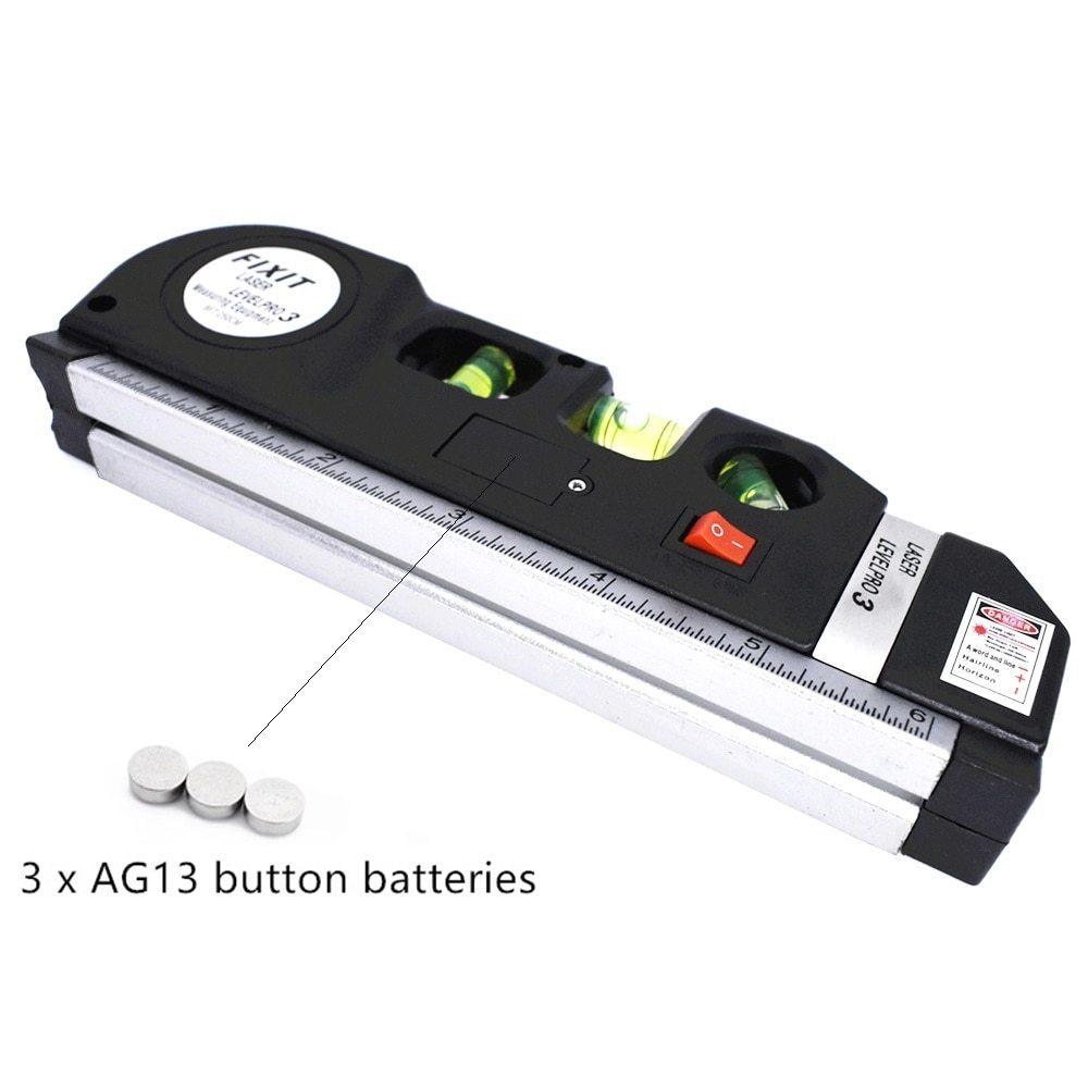 レーザー 高精度 墨出し器 光学測定器 水平レーザー墨出し器テープ調節可能多機能標準定規クロスライン測定器三脚_画像3