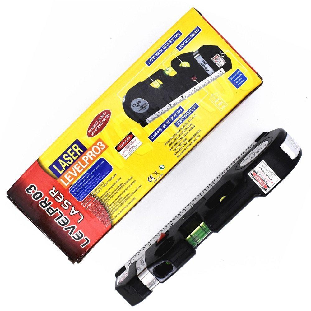 レーザー 高精度 墨出し器 光学測定器 水平レーザー墨出し器テープ調節可能多機能標準定規クロスライン測定器三脚_画像5