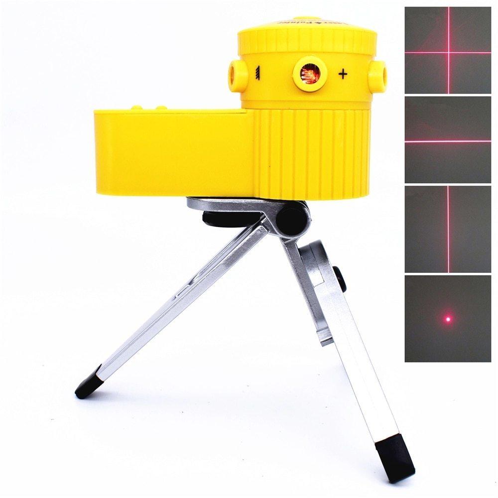 光学測定器 レーザー 高精度 墨出し器 多機能レーザー墨出し器世界水平クロスライン光学機器調節可能三脚と敷設床_画像1