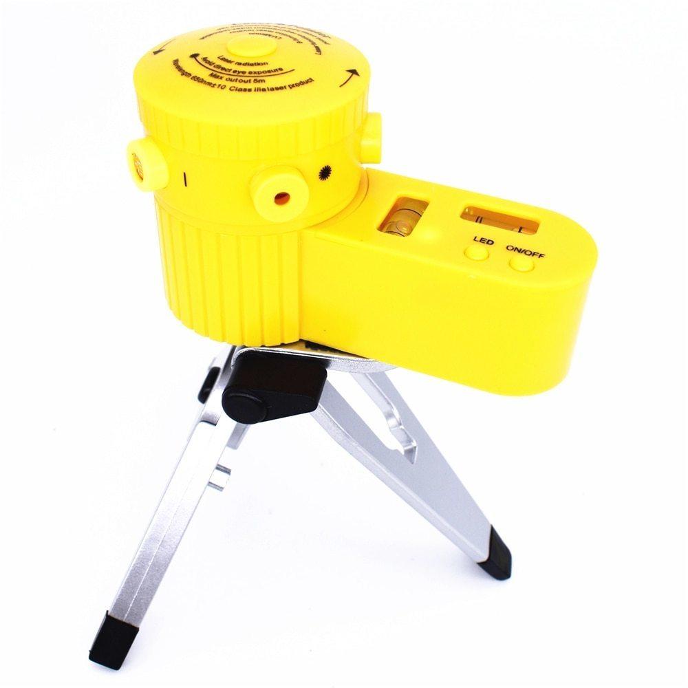 光学測定器 レーザー 高精度 墨出し器 多機能レーザー墨出し器世界水平クロスライン光学機器調節可能三脚と敷設床_画像2