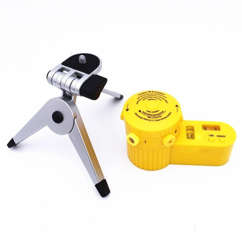 光学測定器 レーザー 高精度 墨出し器 多機能レーザー墨出し器世界水平クロスライン光学機器調節可能三脚と敷設床_画像4