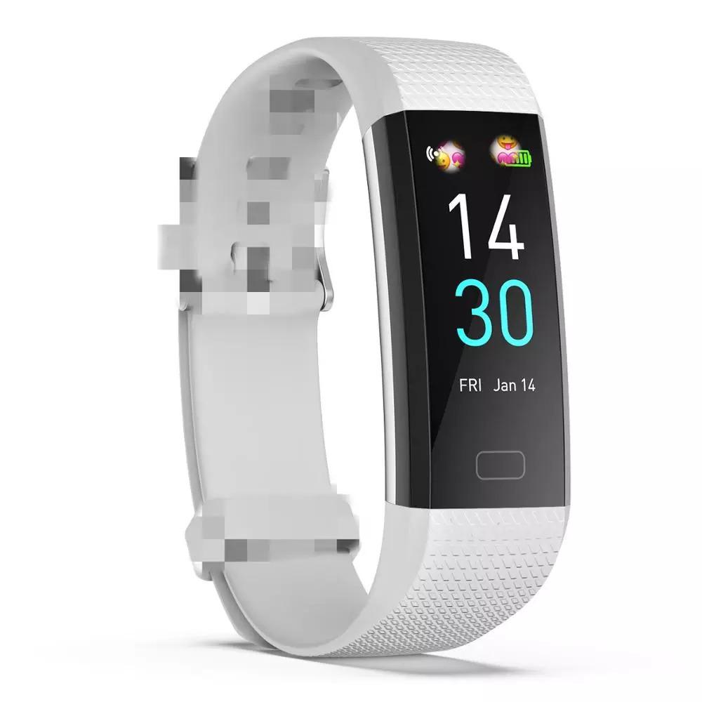 スマートバンド ブレスレット 体温測定 新品 S5スポーツスマート腕時計心拍数血圧と体温計測IP68防水ブレスレット男性 女性_画像1