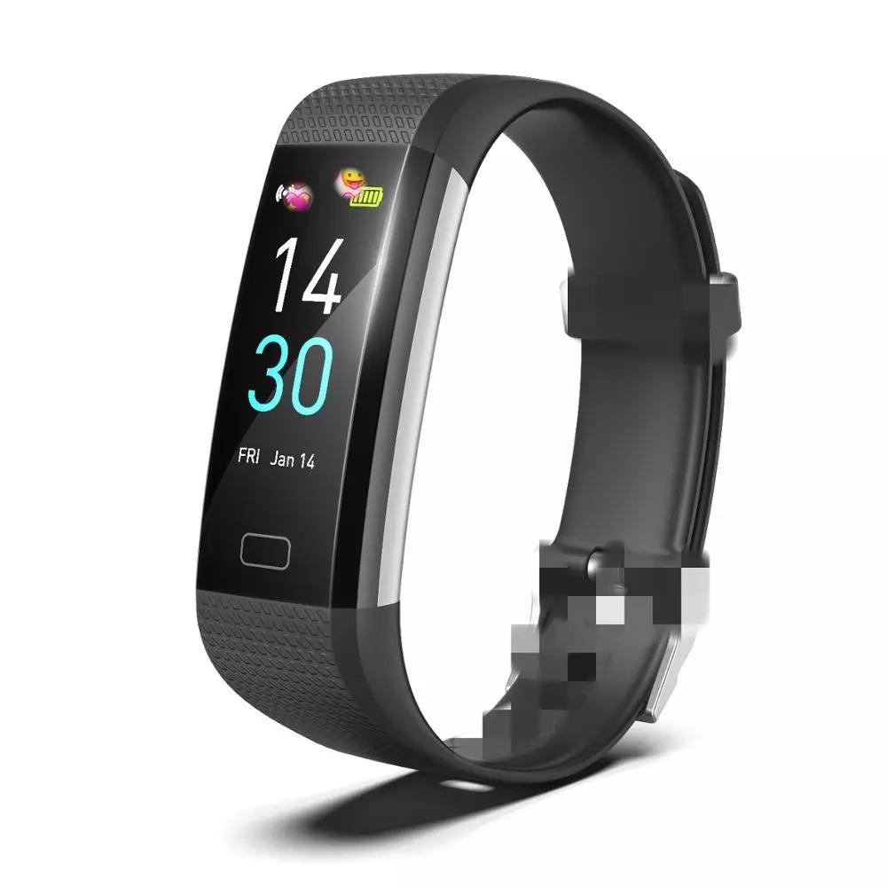 スマートバンド ブレスレット 体温測定 新品 S5スポーツスマート腕時計心拍数血圧と体温計測IP68防水ブレスレット男性 女性_画像2