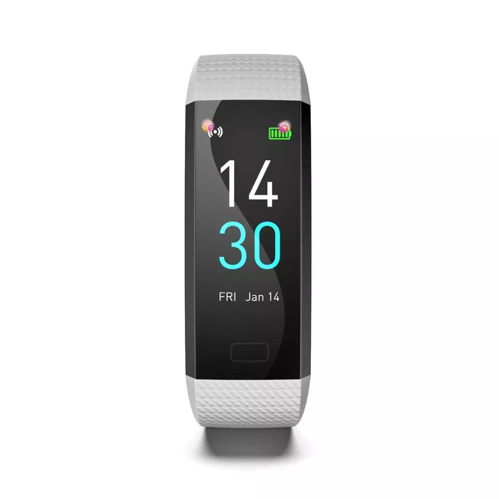 スマートバンド ブレスレット 体温測定 新品 S5スポーツスマート腕時計心拍数血圧と体温計測IP68防水ブレスレット男性 女性_画像3