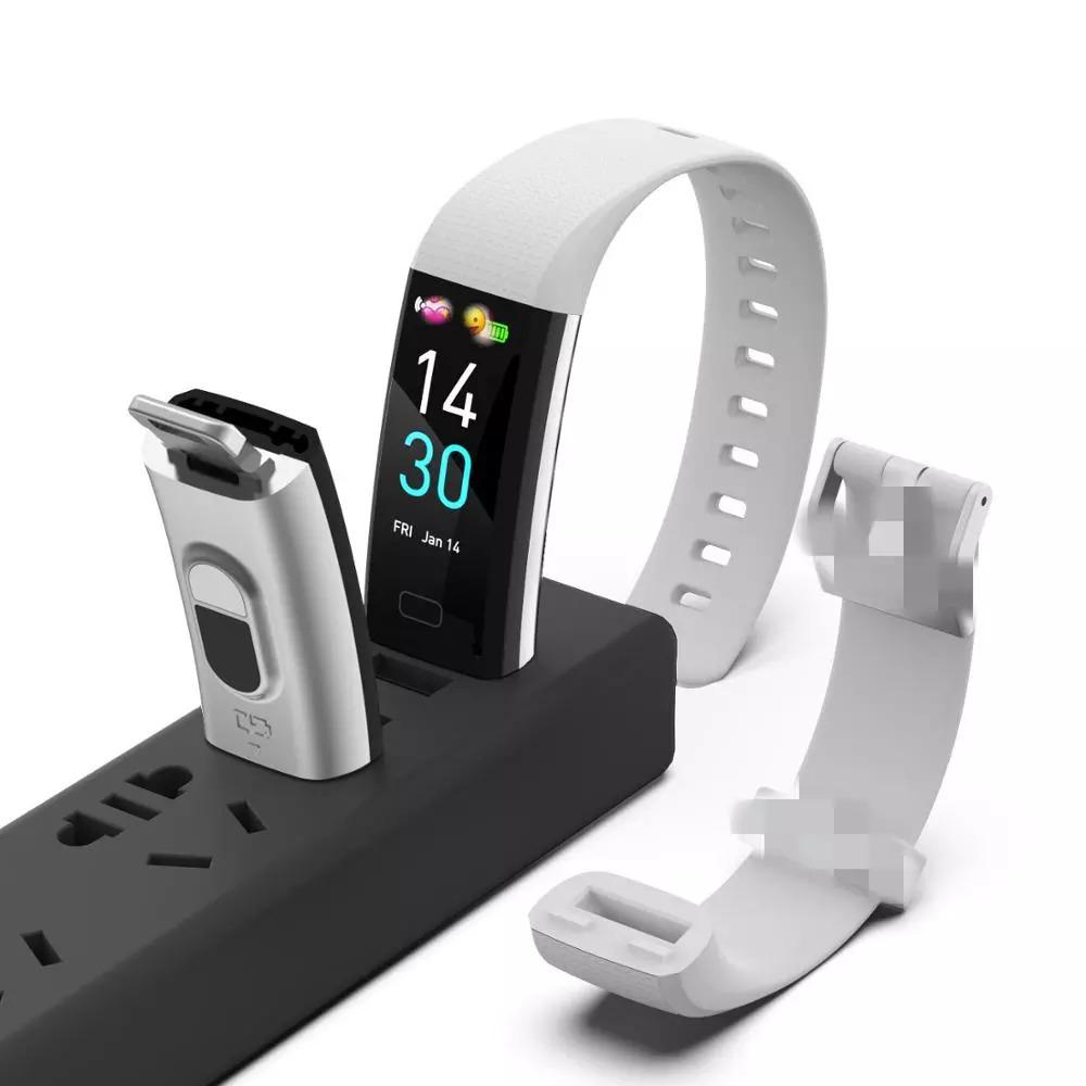 スマートバンド ブレスレット 体温測定 新品 S5スポーツスマート腕時計心拍数血圧と体温計測IP68防水ブレスレット男性 女性_画像5