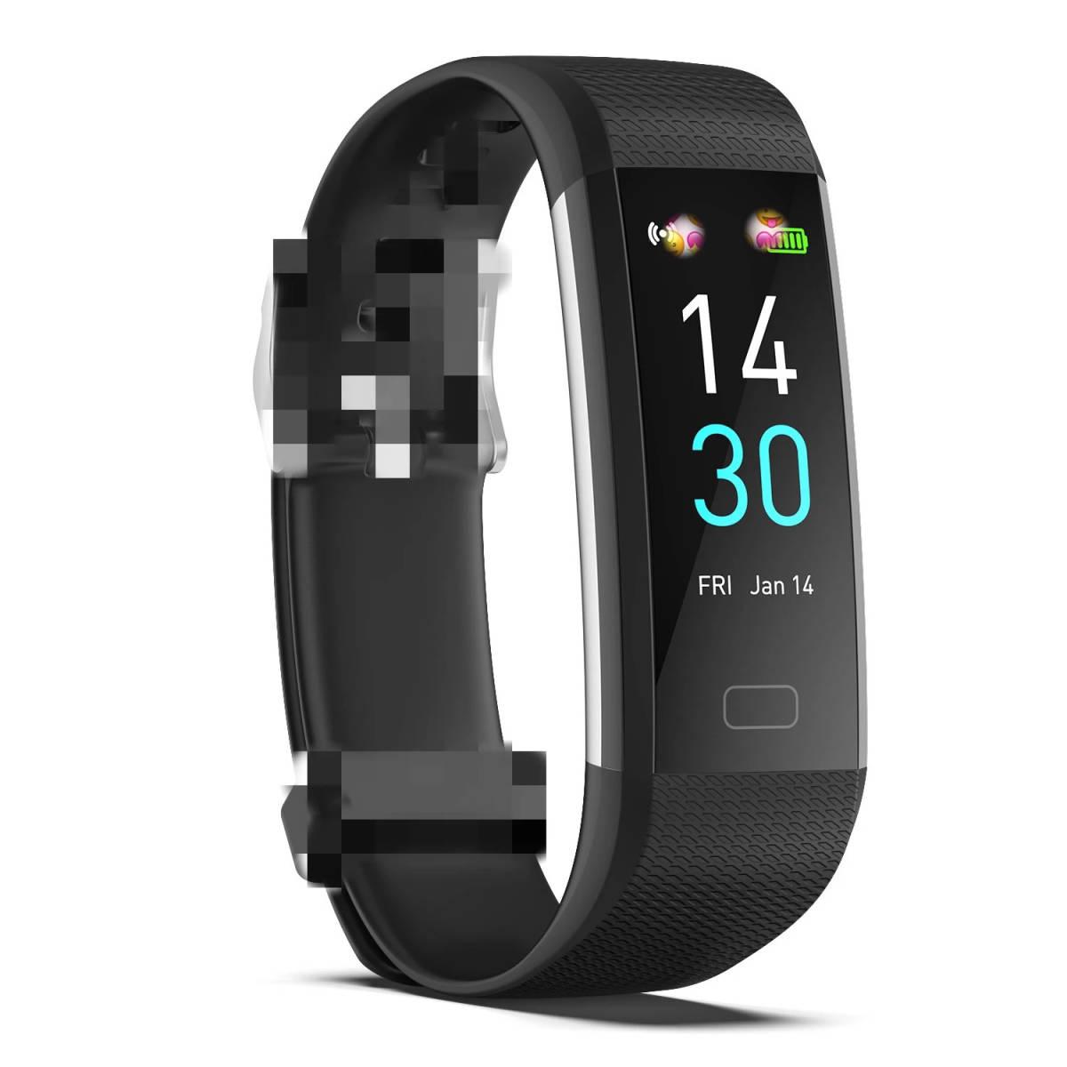 スマートバンド ブレスレット 体温測定 新品 S5スポーツスマート腕時計心拍数血圧と体温計測IP68防水ブレスレット男性 女性_画像7