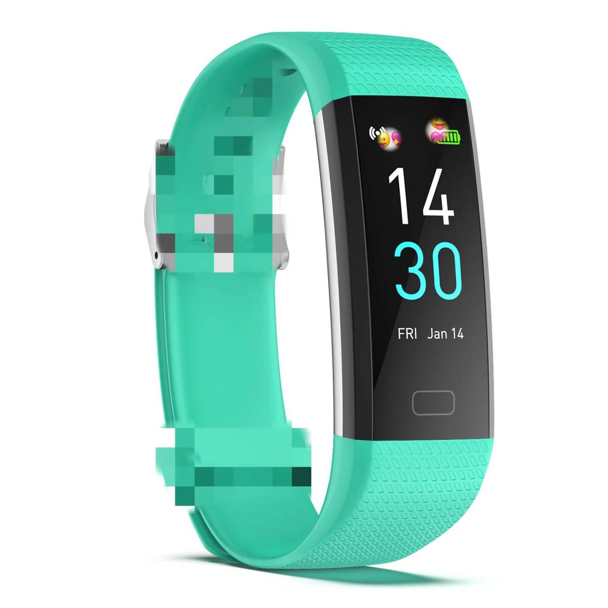 スマートバンド ブレスレット 体温測定 新品 S5スポーツスマート腕時計心拍数血圧と体温計測IP68防水ブレスレット男性 女性_画像8