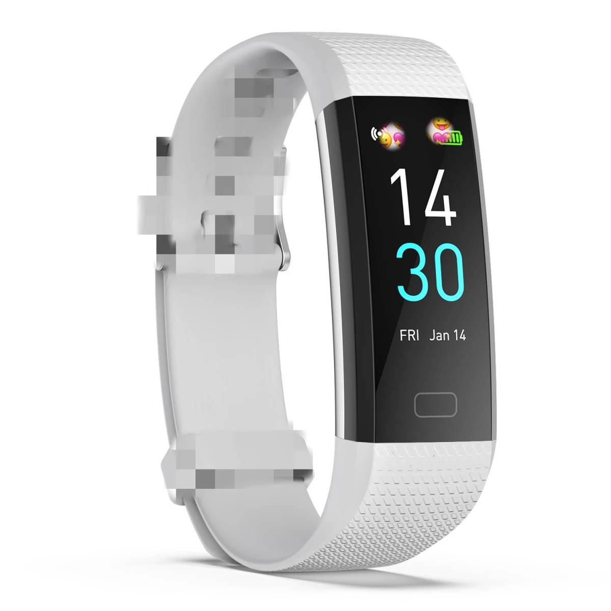 スマートバンド ブレスレット 体温測定 新品 S5スポーツスマート腕時計心拍数血圧と体温計測IP68防水ブレスレット男性 女性_画像10
