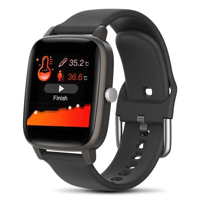 ブレスレット スマートバンド 新品 体温測定 T68T98スマート腕時計体温測定心拍数血圧酸素モニタースマートリストバンドスポーツ_画像9