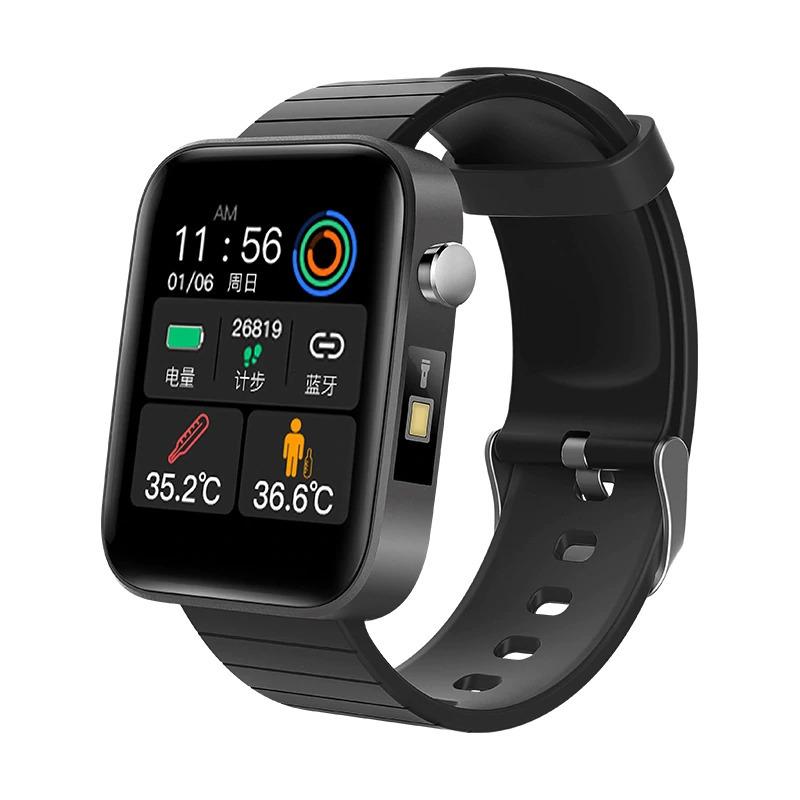 ブレスレット スマートバンド 新品 体温測定 T68T98スマート腕時計体温測定心拍数血圧酸素モニタースマートリストバンドスポーツ_画像8