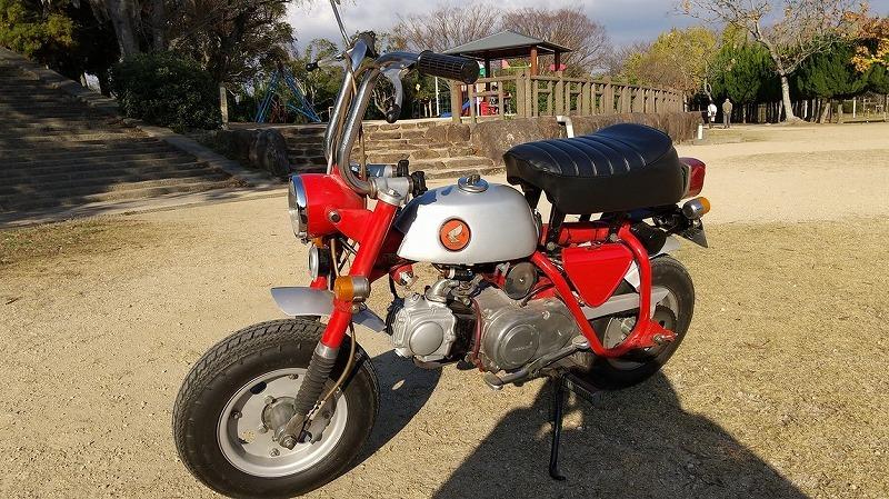 「ホンダ モンキーZ50A 両手ブレーキ 69年式」の画像1