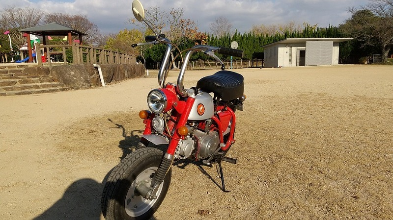 「ホンダ モンキーZ50A 両手ブレーキ 69年式」の画像2