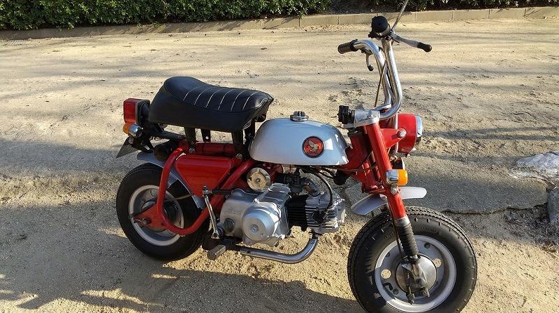 「ホンダ モンキーZ50A 両手ブレーキ 69年式」の画像3