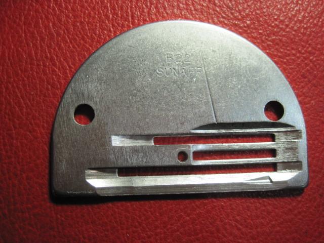 ミシン専門店 工業用、職業用ミシンに使うB22針板_画像2
