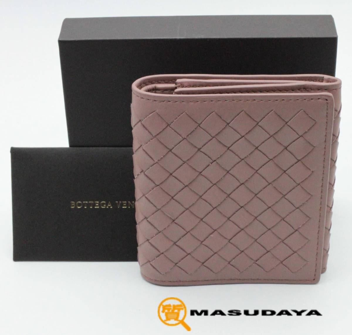 ◆◇【超美品】Bottega Veneta ボッテガヴェネタ イントレチャート 三つ折り財布◇◆_画像1