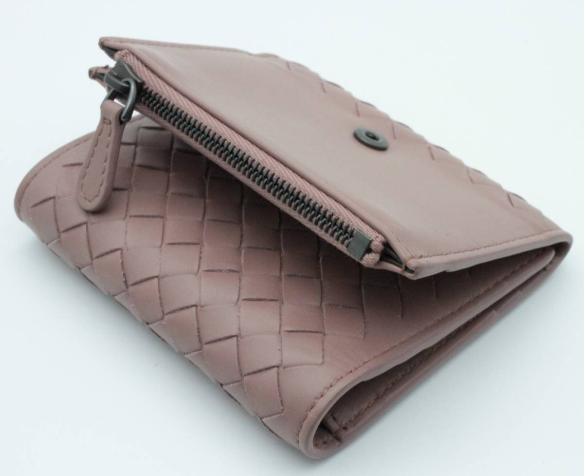 ◆◇【超美品】Bottega Veneta ボッテガヴェネタ イントレチャート 三つ折り財布◇◆_画像6