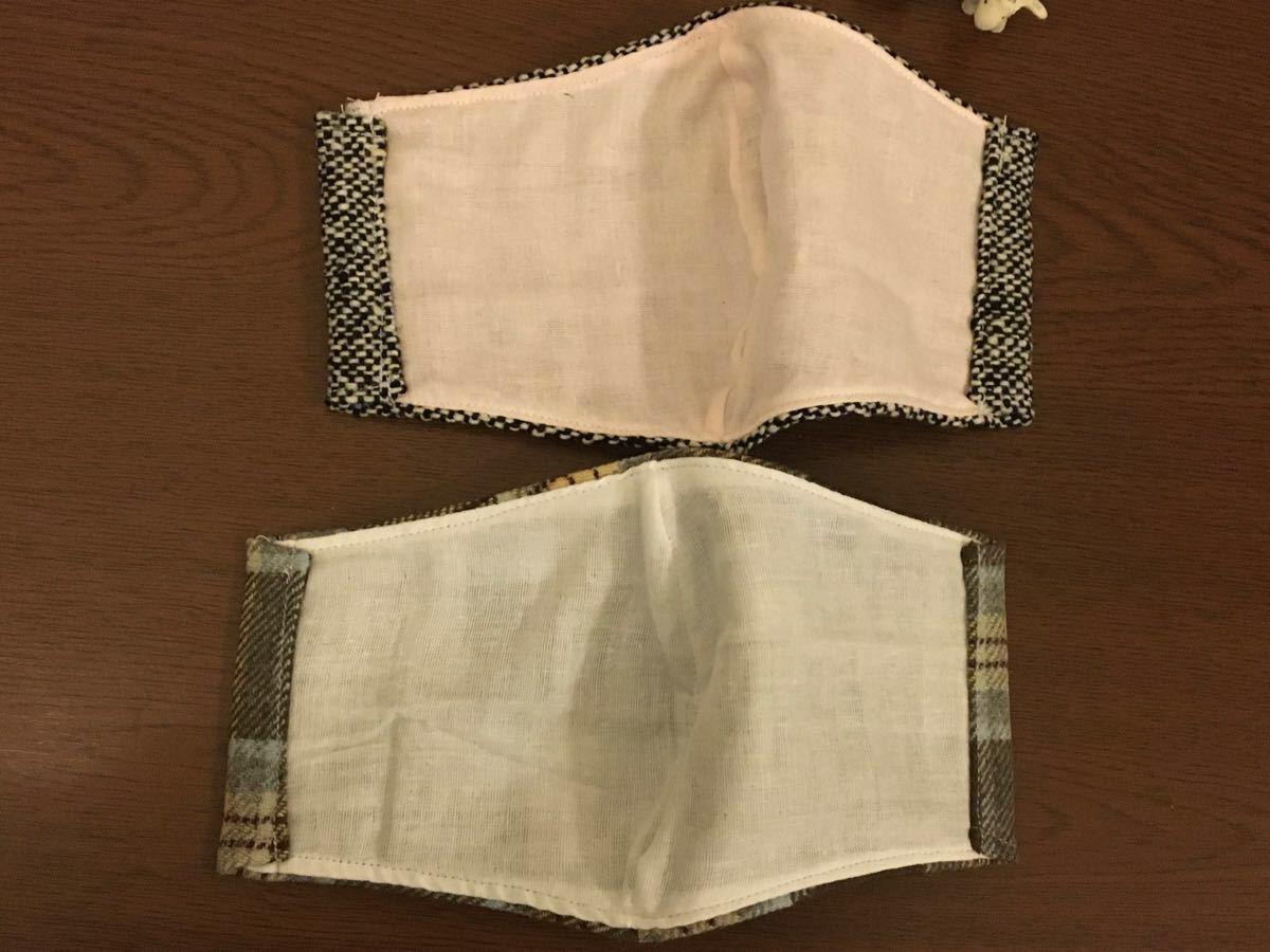 インナー 立体インナー ハンドメイド 手作り 女性 ガーゼ 冬