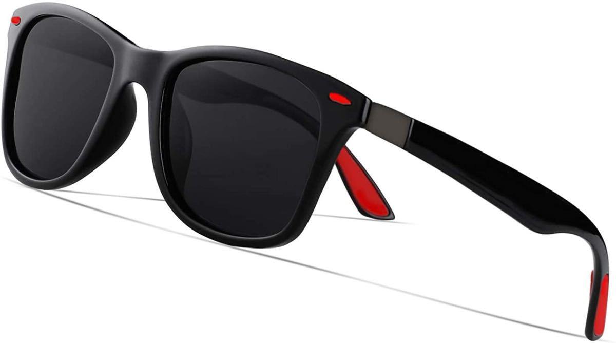 偏光サングラス おしゃれ 偏向レンズ 超軽量フレー UV400紫外線 自転車・ドライブ・釣り用・登山・ゴルフ・サイクリングにも最適