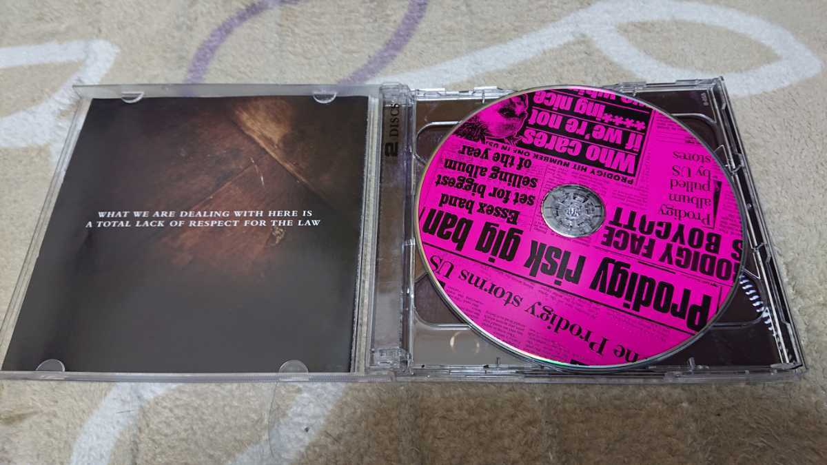 THE PRODIGY THEIR LAW THE SINGLES 1990-2005 2CD 輸入盤 プロディジー シングルス ベスト BEST