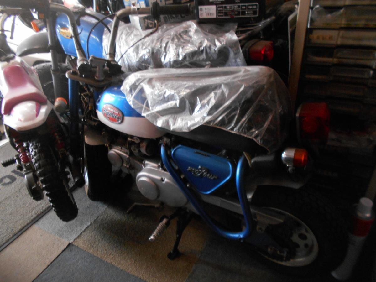 「絶版旧車メ-カ-廃盤ホンダモンキ-Z50Aクラッチ付カスタム車4速!マニア館趣味のバイクギフトップトレ-ディング」の画像3