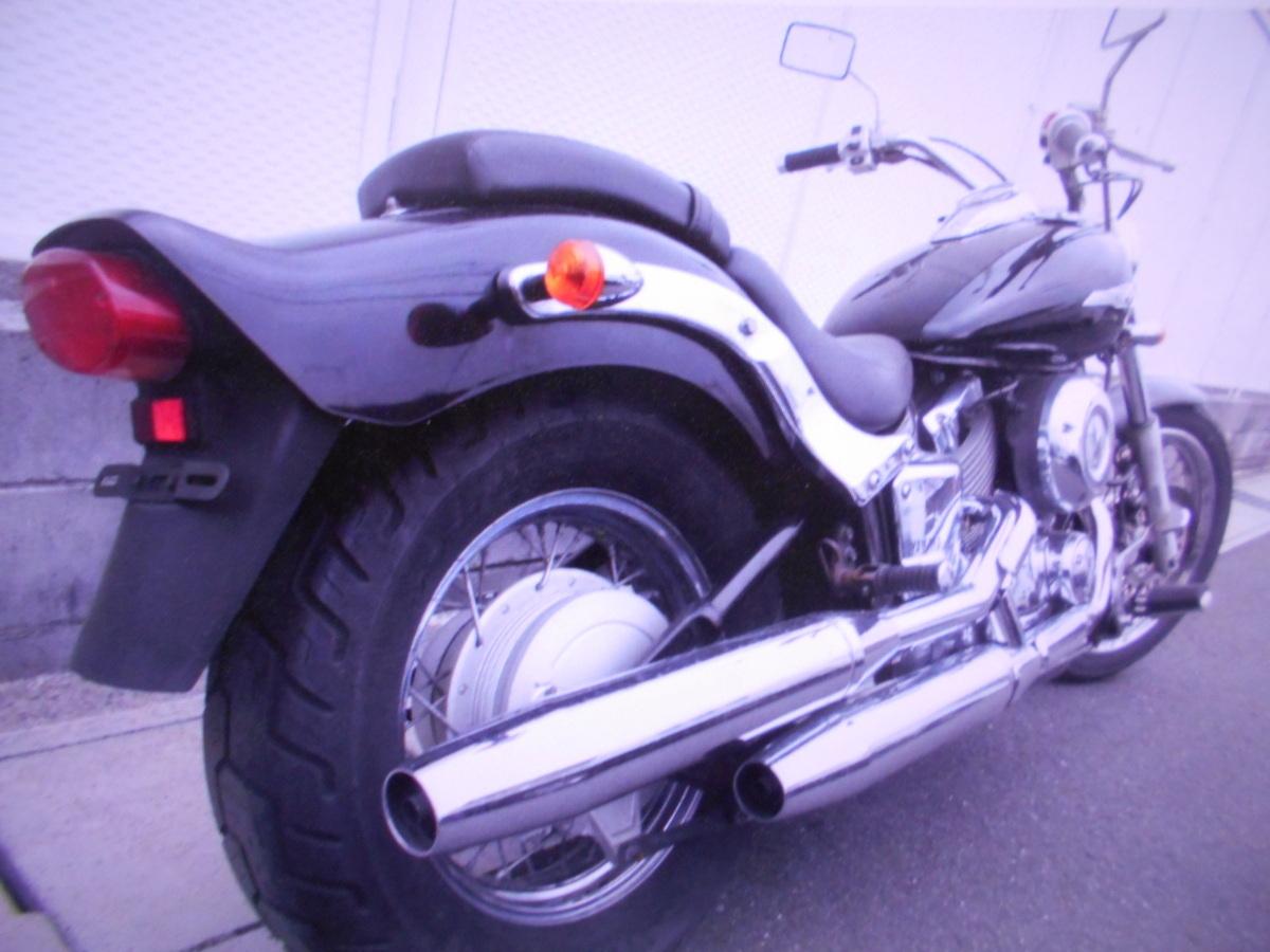 「ヤマハ岐阜 ドラッグスター400 4TR ノ-マル 即決 1998 マニア館 趣味のバイク ギフトップ トレ-ディング」の画像3