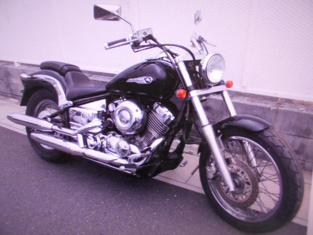 「ヤマハ岐阜 ドラッグスター400 4TR ノ-マル 即決 1998 マニア館 趣味のバイク ギフトップ トレ-ディング」の画像1
