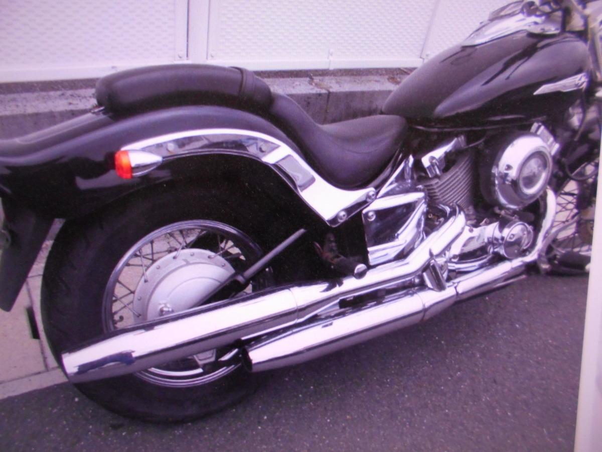「ヤマハ岐阜 ドラッグスター400 4TR ノ-マル 即決 1998 マニア館 趣味のバイク ギフトップ トレ-ディング」の画像2