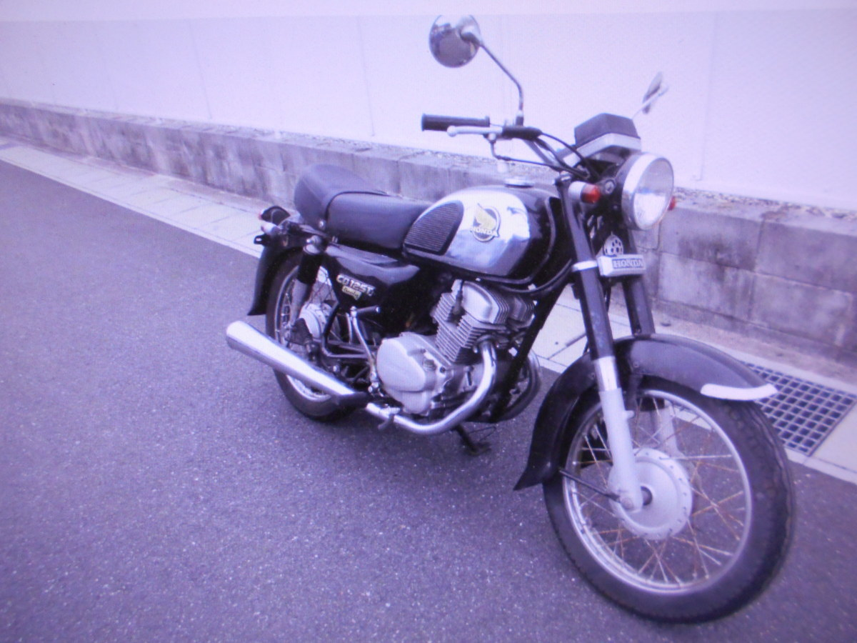 「絶版廃盤旧車ホンダベンリ-125カスタムパンドラの箱マニア館趣味のバイク株式会社ギフトップトレ-ディング」の画像1