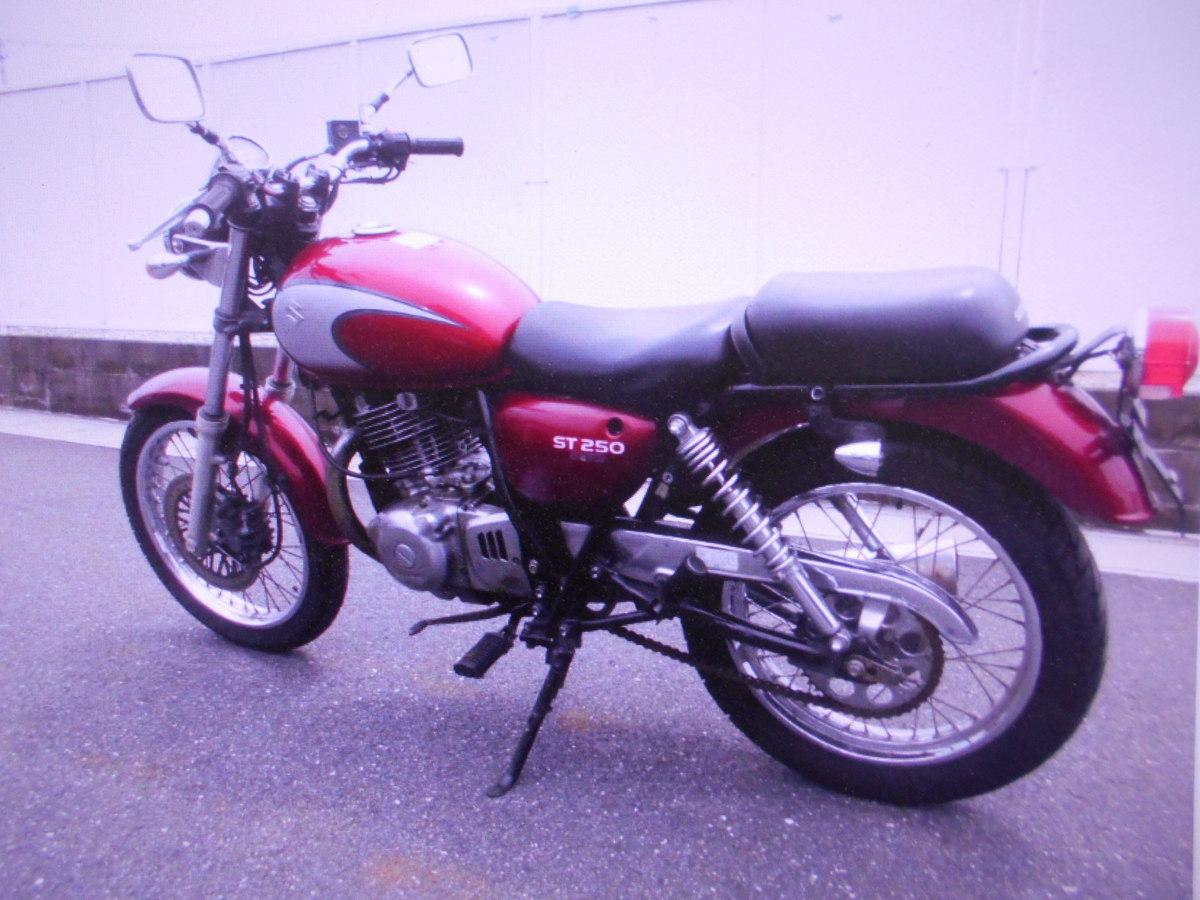 「スズキST250E-TYPEパンドラの箱マニア館趣味のバイク株式会社ギフトップトレ-ディング」の画像2