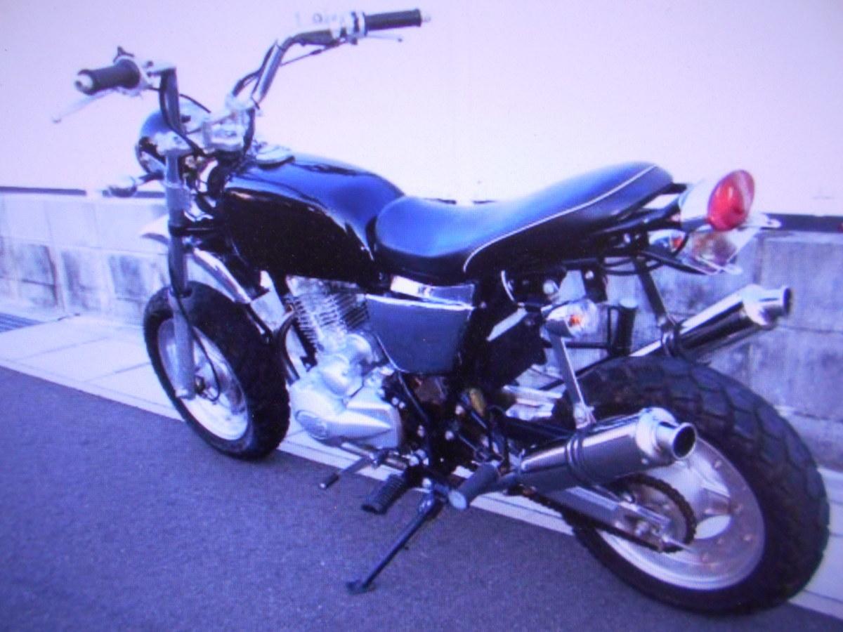 「希少 珍車 キットバイク(エイプタイプ)125cc単気筒2本出し部品取り車マニア館株式会社ギフトップトレ-ディング」の画像1