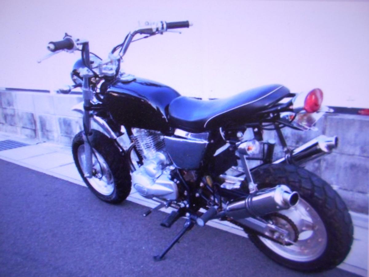 「希少 珍車 キットバイク(エイプタイプ)125cc単気筒2本出し部品取り車マニア館株式会社ギフトップトレ-ディング」の画像3