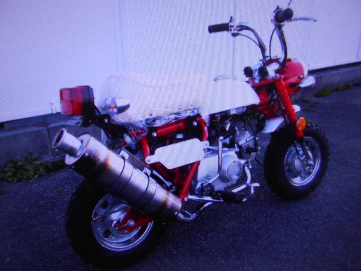「ミニモンキ-タイプ珍車キットバイク排気量不明走行107kmマニア館ギフトップトレ-ディング」の画像2