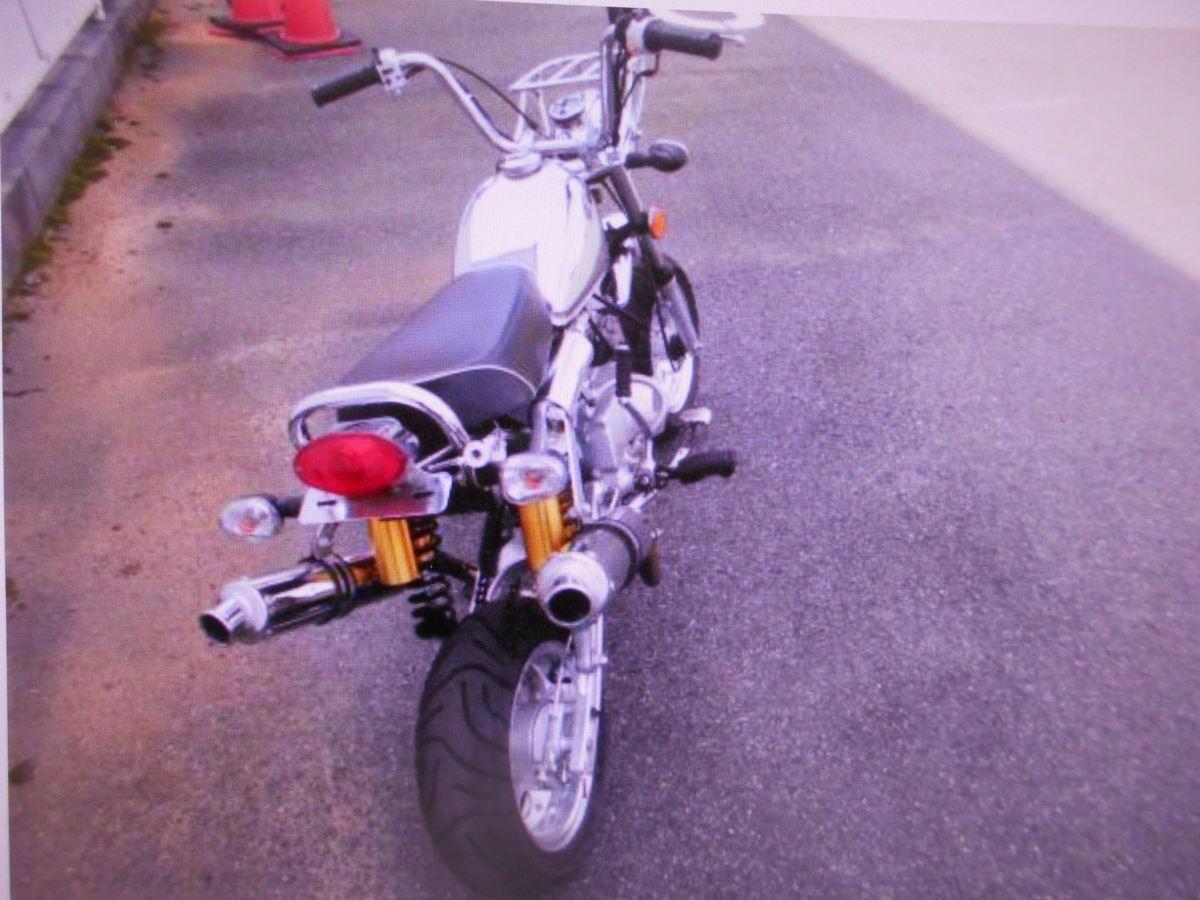 「モンキ-タイプのカスタムキットバイク110ccマニア館趣味のバイク株式会社ギフトップトレ-ディング」の画像3