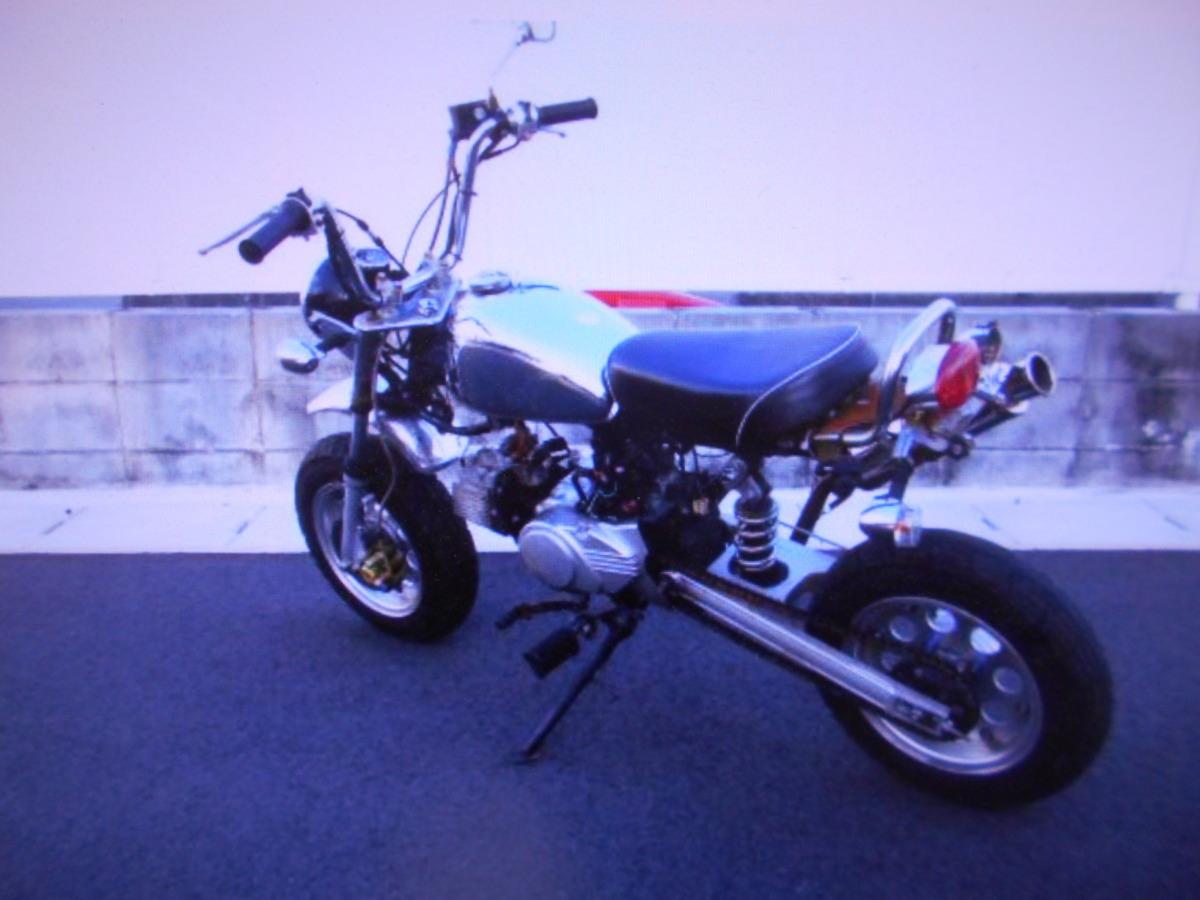「モンキ-タイプのカスタム キットバイク マニア館趣味のバイクレストア/部品取り用ギフトップトレ-ディング」の画像2