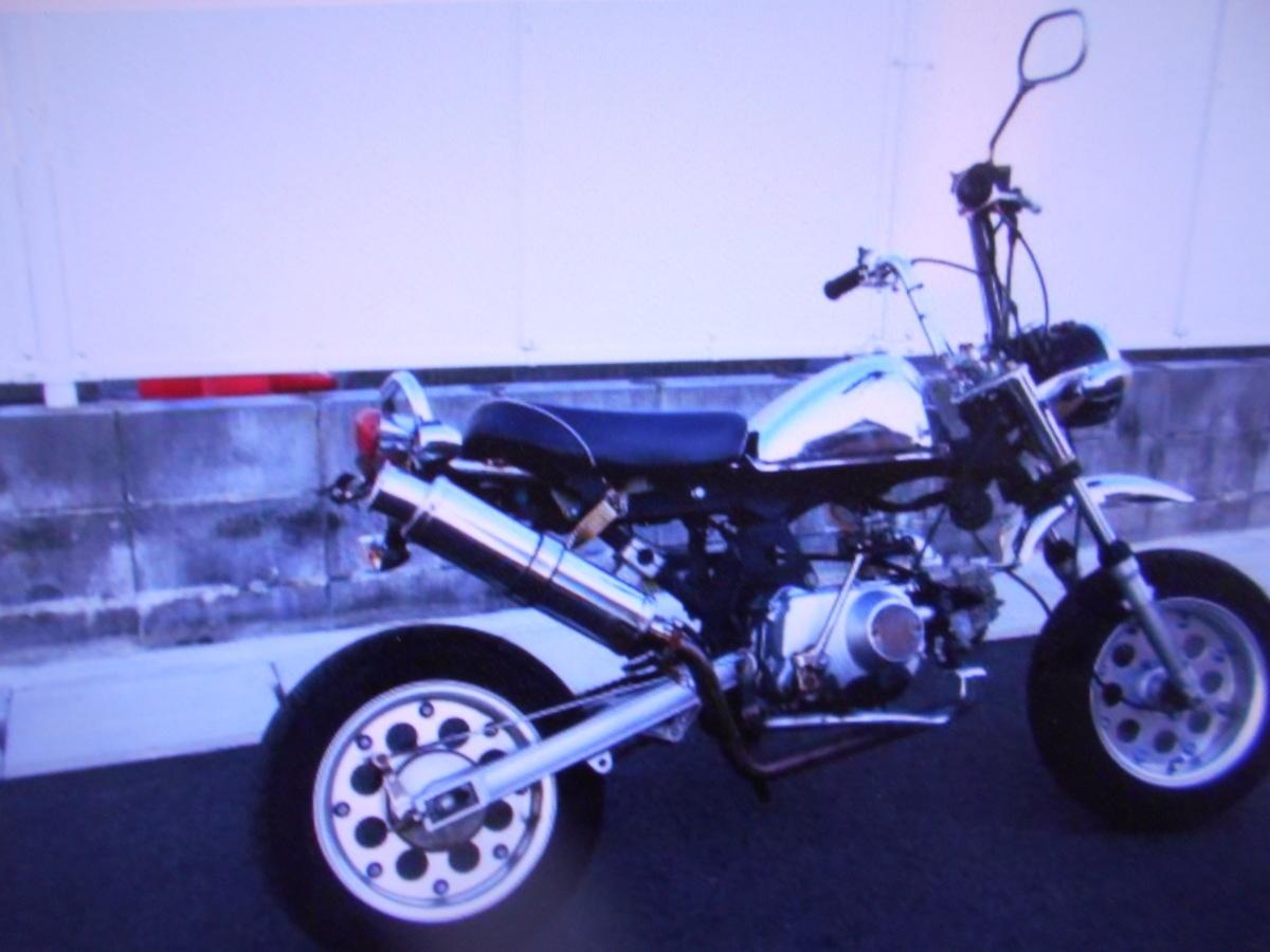 「モンキ-タイプのカスタム キットバイク マニア館趣味のバイクレストア/部品取り用ギフトップトレ-ディング」の画像3