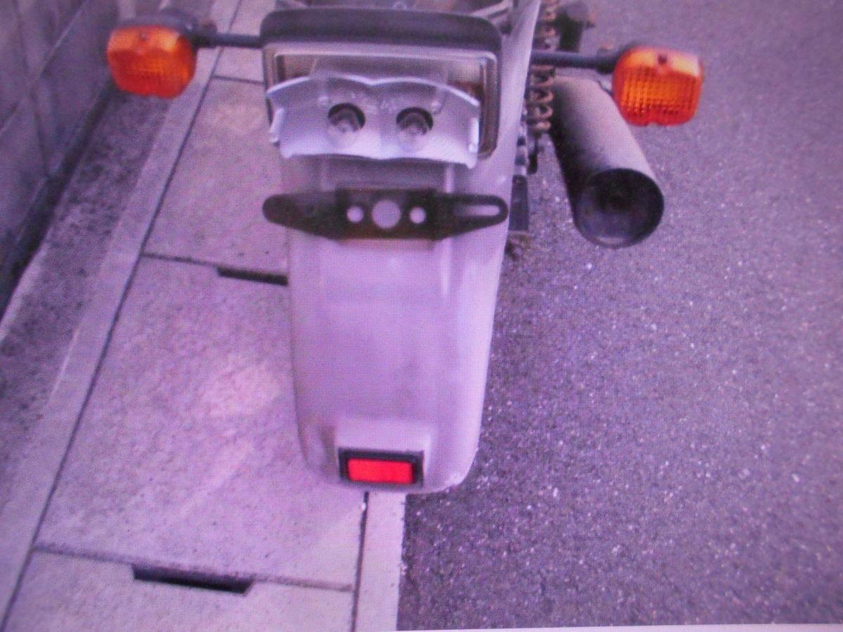 「絶版旧車昭和ビンテ-ジ  ホンダ FT400 NC09 書類なし 部品取り車 マニア館 パ-ツ販売 株式会社 ギフトップトレ-ディング」の画像2