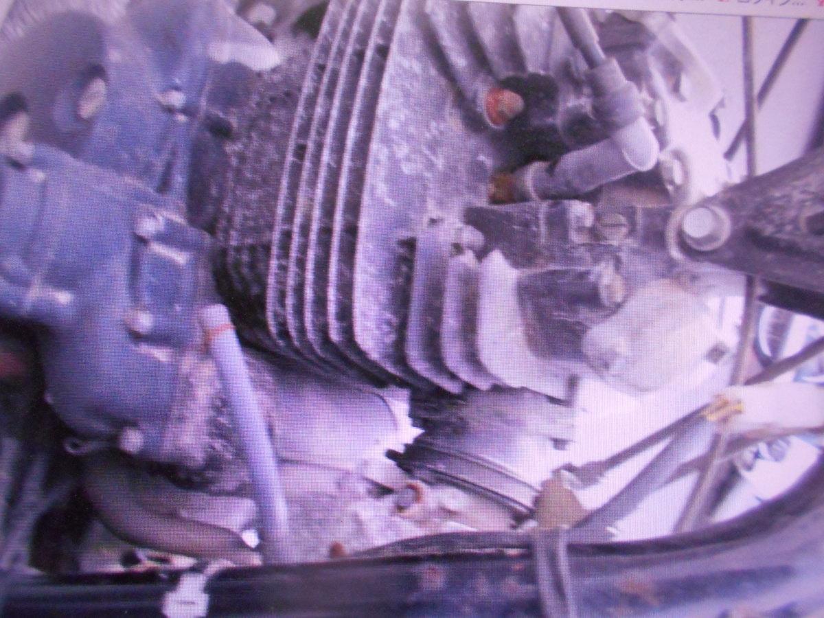 「絶版旧車昭和ビンテ-ジ  ホンダ FT400 NC09 書類なし 部品取り車 マニア館 パ-ツ販売 株式会社 ギフトップトレ-ディング」の画像3