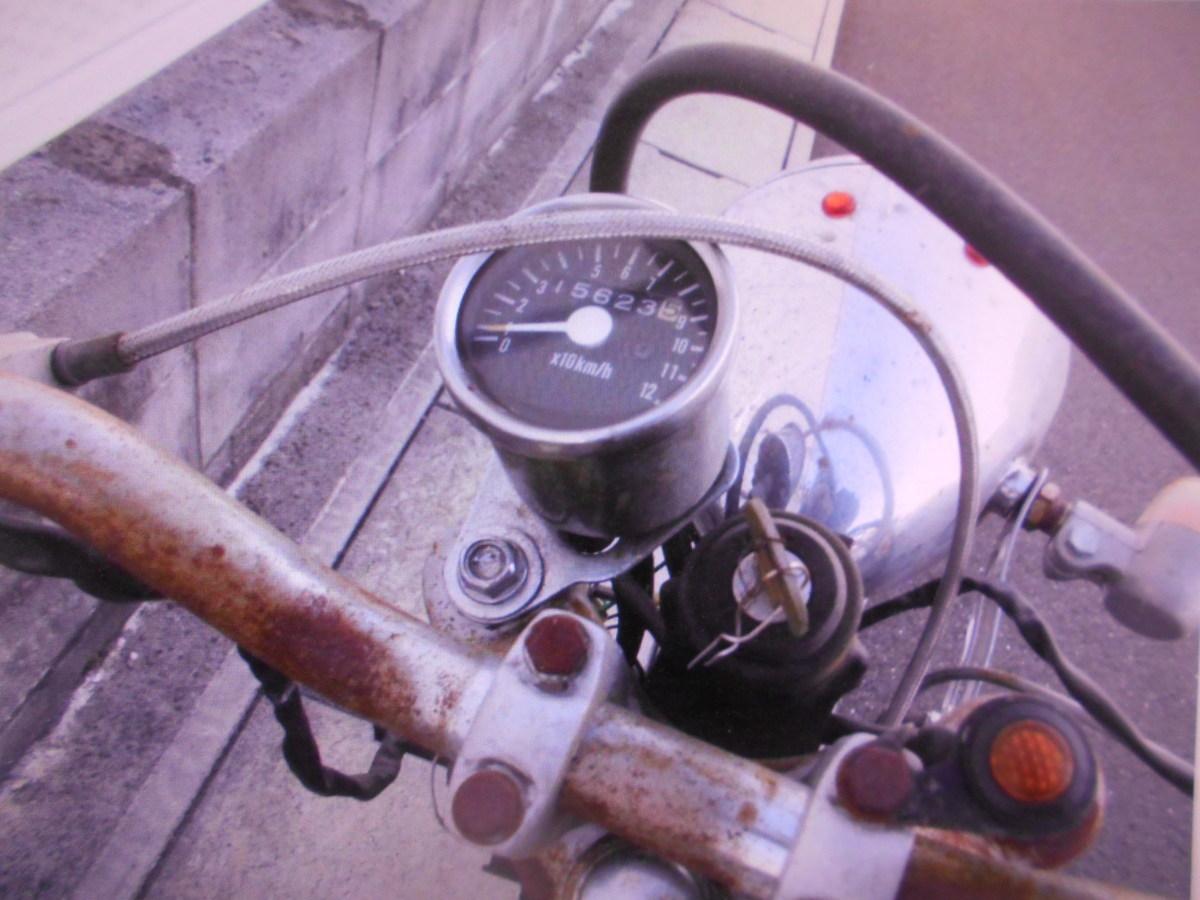 「絶版メ-カ-廃盤昭和の旧車ホンダベンリ-CD50 カスタム車両レストア用部品取り車マニア館ギフトップ」の画像3
