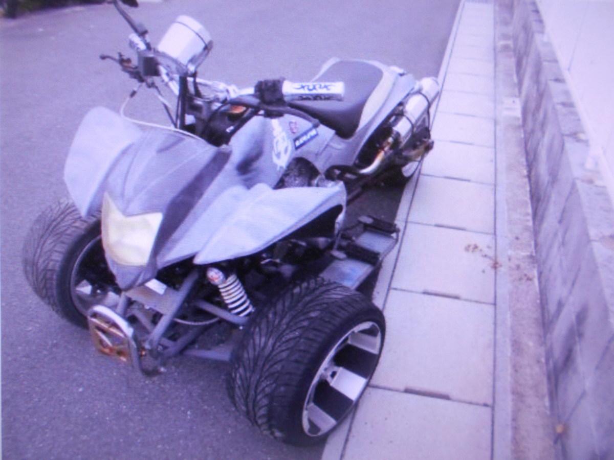 「珍車マニアG-WHEEL TRIKER 3W ATV250現状車乗用 側車付軽二輪 ジャンク 部品取り マニア館」の画像3