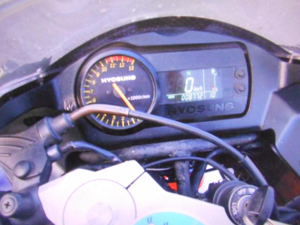 「HYOSUNG GT250R 書類なし 部品取り車 マニア館入庫時実働ばら売りOK ギフトップトレ-ディング」の画像2