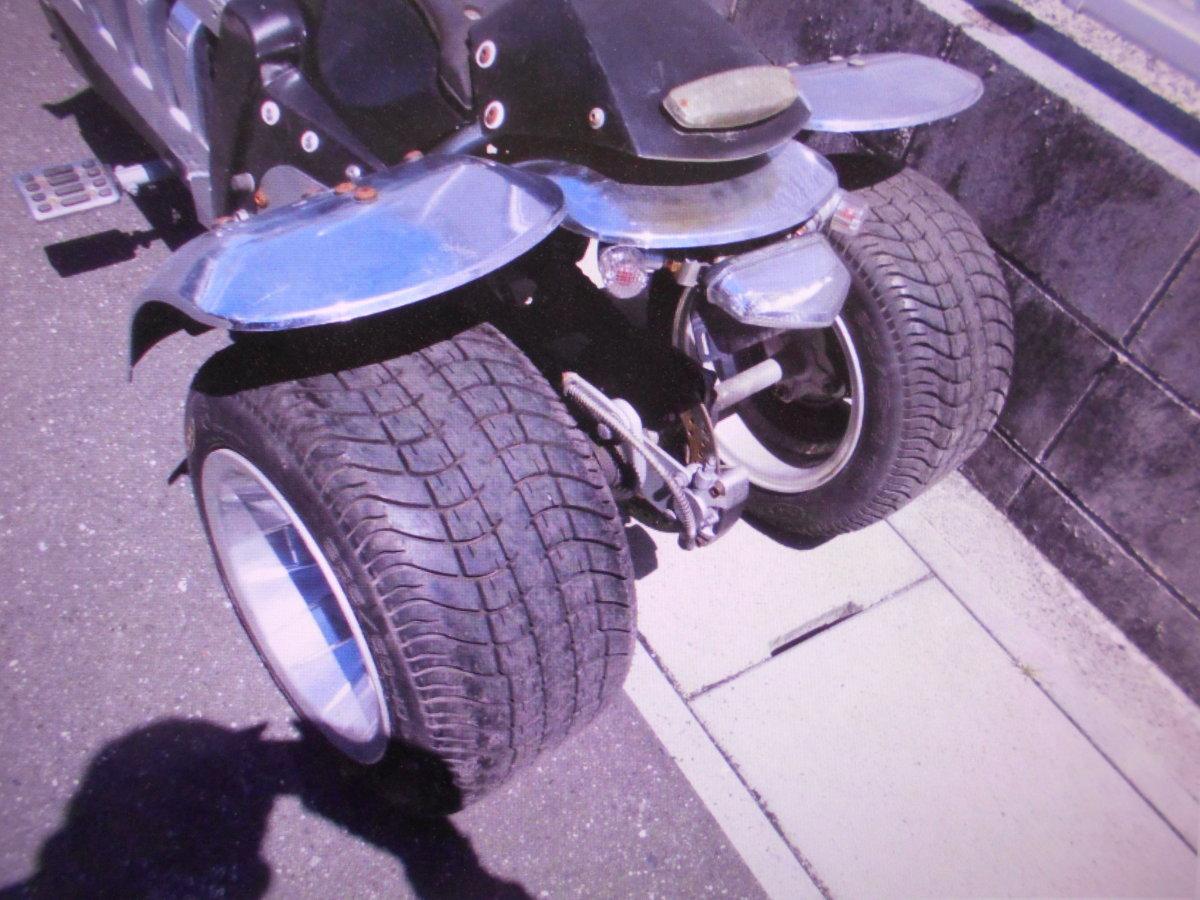 「珍車キットバイクGW3輪4ST排気量不明ばら売りOKマニア館バイクパ-ツ株式会社ギフトップトレ-ディング」の画像2