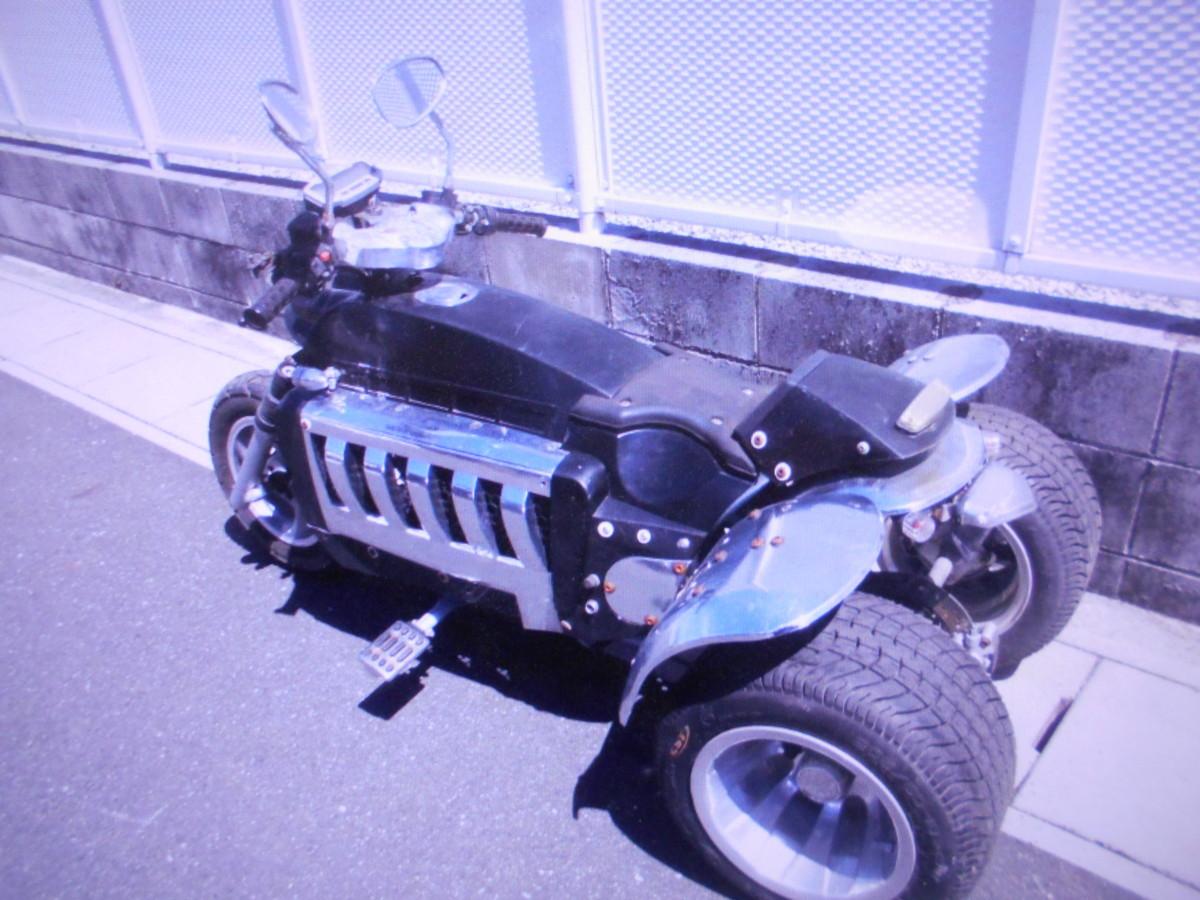 「珍車キットバイクGW3輪4ST排気量不明ばら売りOKマニア館バイクパ-ツ株式会社ギフトップトレ-ディング」の画像3